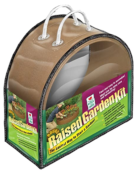 Easy Gardener Round Raised Garden Kit