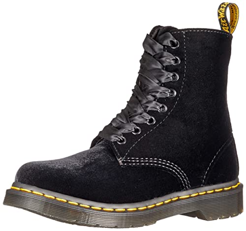united kingdom best place the latest Dr. Martens 1460 Pascal Velvet Boot Black