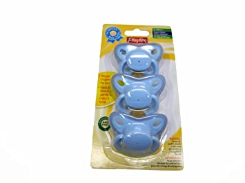 Playtex Binky Pacifier 3 Per Pack (Blue)