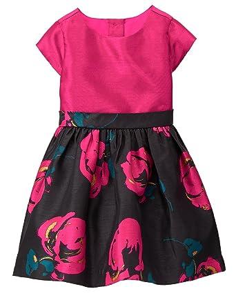 33c51eabd Amazon.com: Gymboree Girls' Toddler Floral Print Party Dress: Clothing