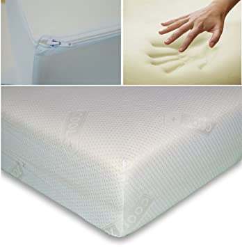 6ft Super King Soft Hypoallergenic Memory Foam Mattress With Free