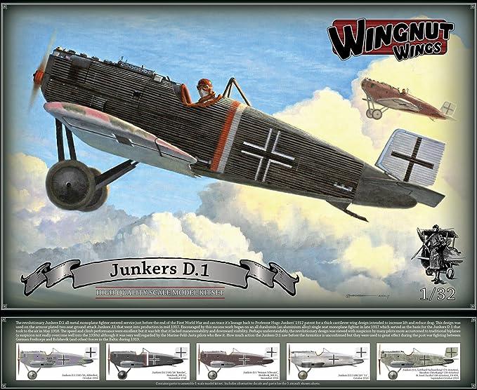 Amazon.com: wnw32065 1: 32 Wingnut Alas JUNKERS D.I [Modelo ...