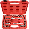 "TEKTON 45-Piece 1/4"" and 3/8"" Drive Socket Set"