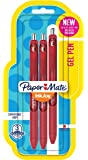 Paper Mate InkJoy Gel Pens, Medium Point, Red, 3 Count