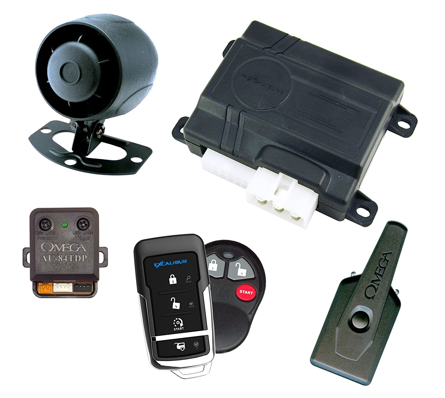 AL360EDP Deluxe 1-Way Remote Start and Security System Excalibur