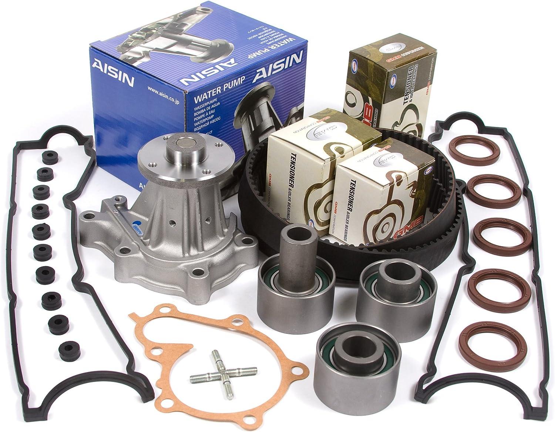 Fit 90-96 Nissan 300ZX Turbo 3.0L Timing Belt NPW Water Pump Kit VG30DE VG30DETT