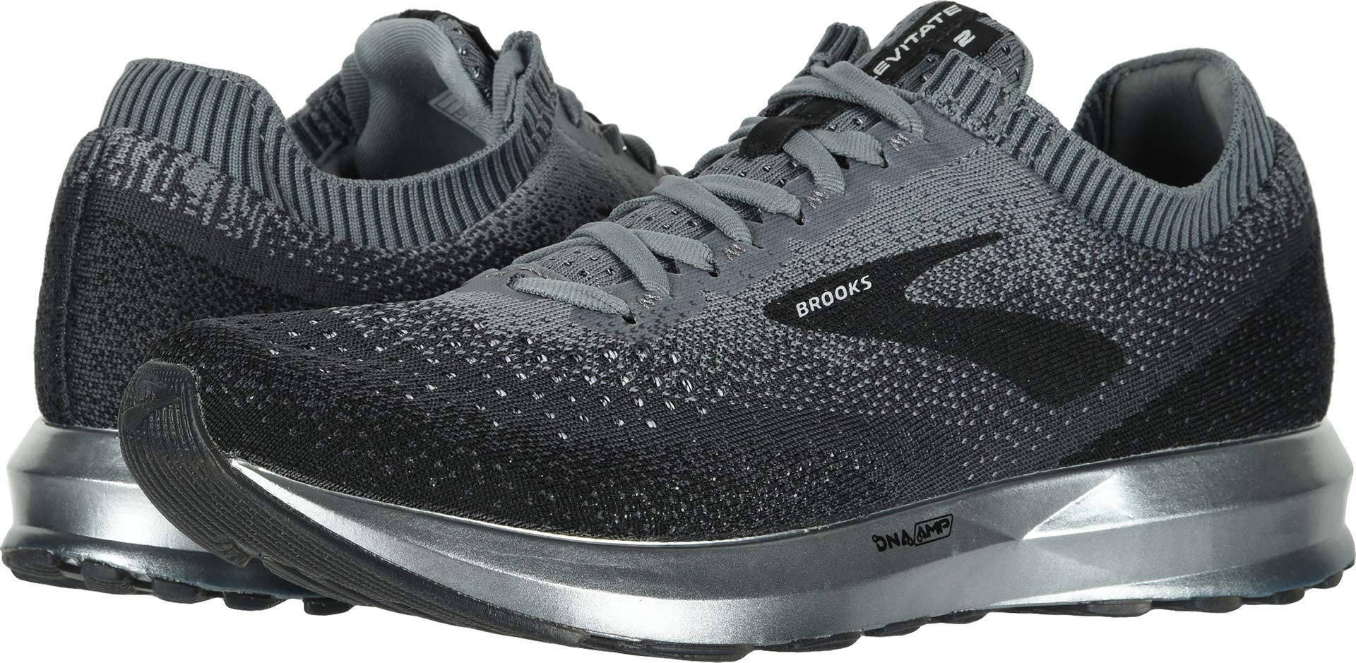 Brooks Men's Levitate 2 Black/Grey/Ebony 11 D US by Brooks