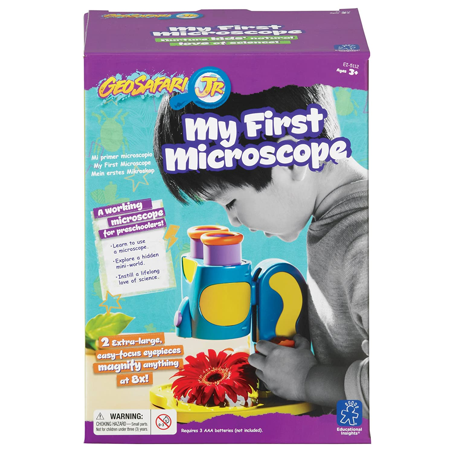 Educational Insights My First Microscope Microscopes Amazon Canada