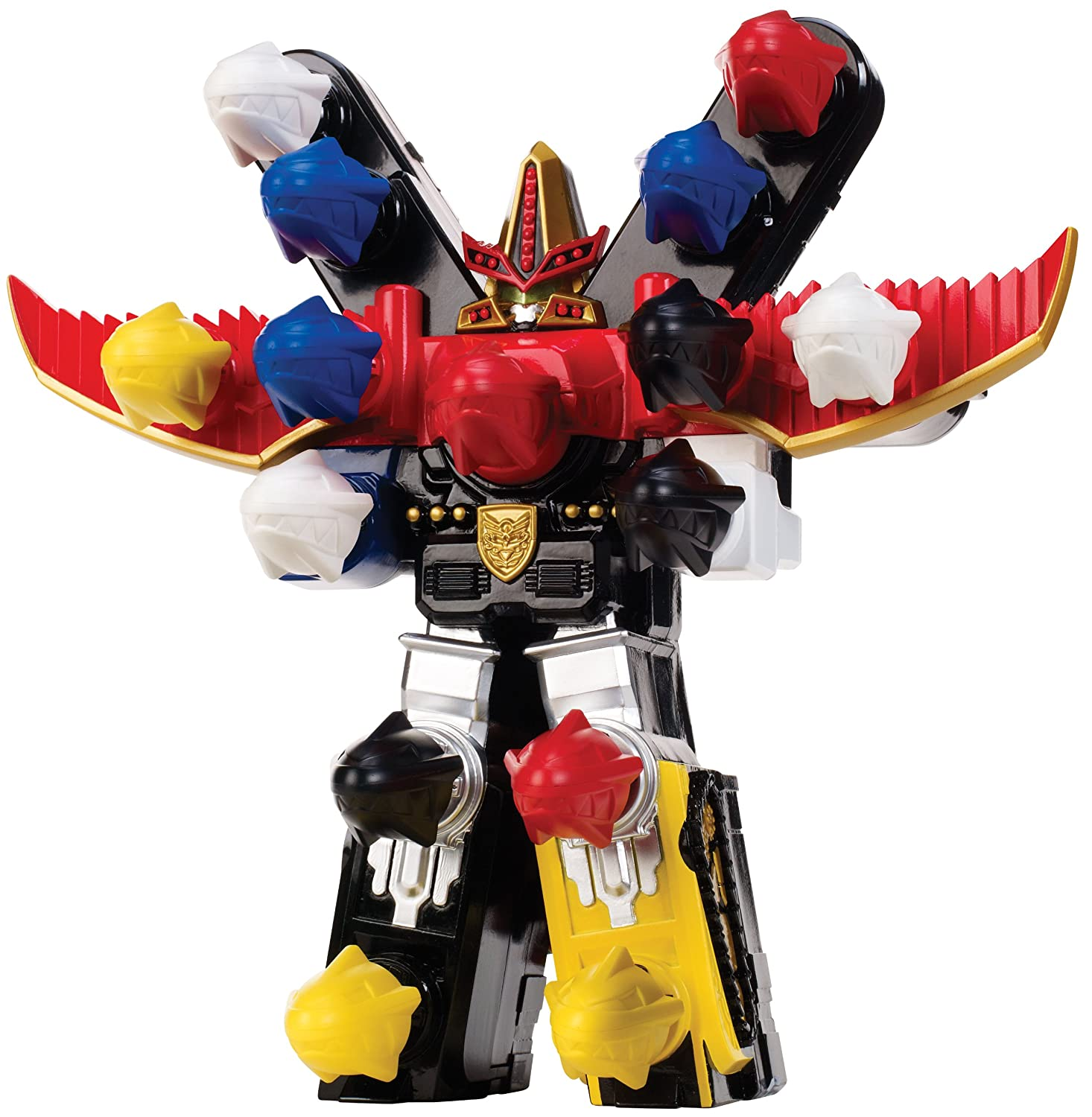 Uncategorized Robot From Power Rangers amazon com power rangers megaforce battlefire ultra gosei great megazord toys games