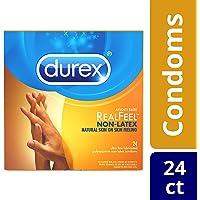 Durex Avanti Bare Real Feel Lubricated Non Latex Condoms - 24 ct
