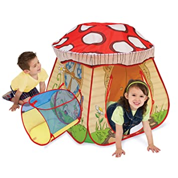 Playhut Play Village Mushroom House Play Tent  sc 1 st  Amazon.com & Amazon.com: Playhut Play Village Mushroom House Play Tent: Toys ...