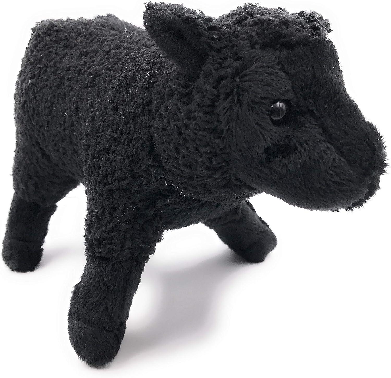 Onwomania Peluche Peluche Animal Oveja Animal muflón Negro pie 20 cm: Amazon.es: Juguetes y juegos