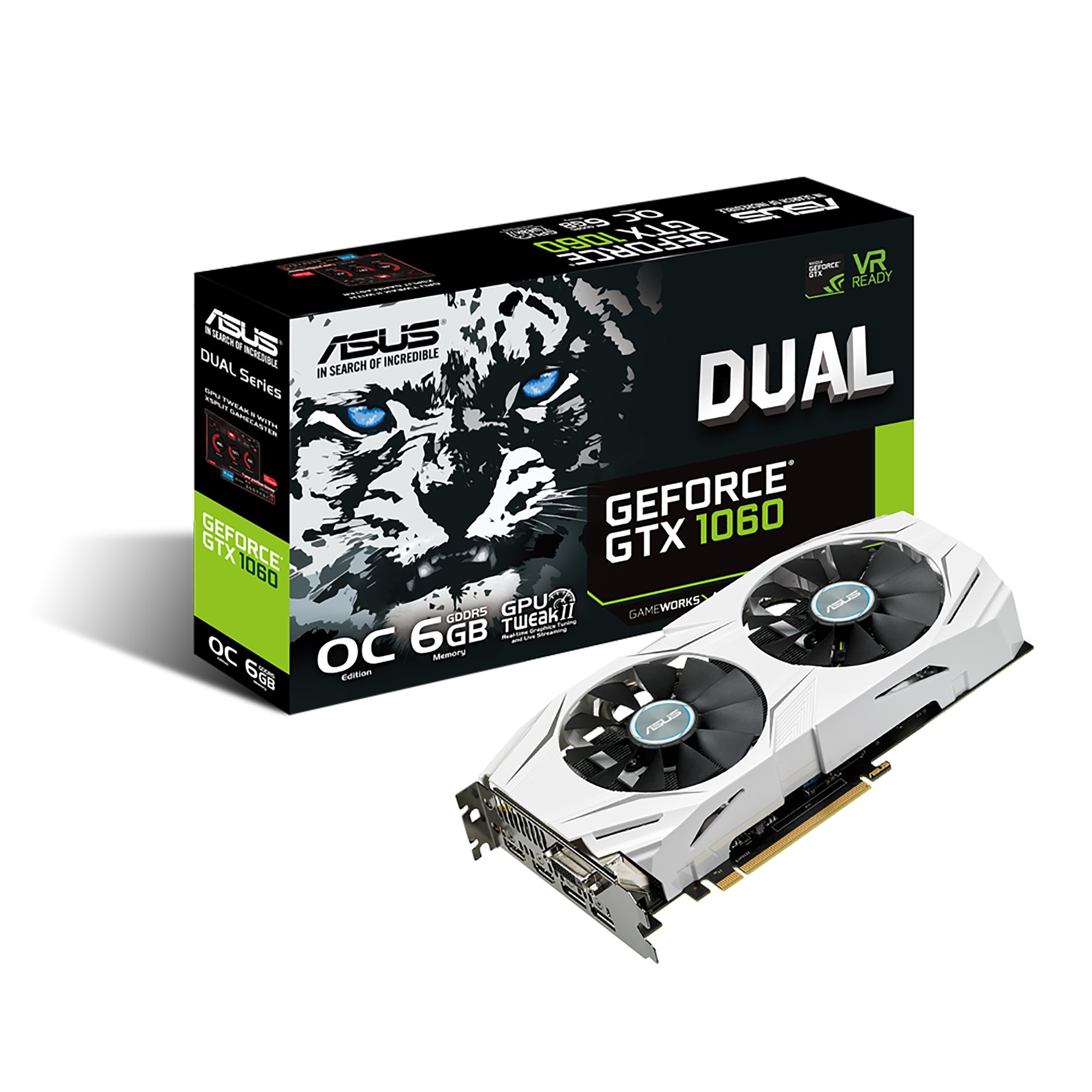 ASUS GeForce GTX 1060 6GB Dual-fan OC Edition VR Ready Dual HDMI DP 1.4 Gaming Graphics Card (DUAL-GTX1060-O6G) by Asus (Image #9)
