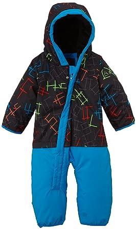 Quiksilver Little Rookie - Traje de esquí para niño, color gris, talla FR : 6 mois (Taille Fabricant : 6M)