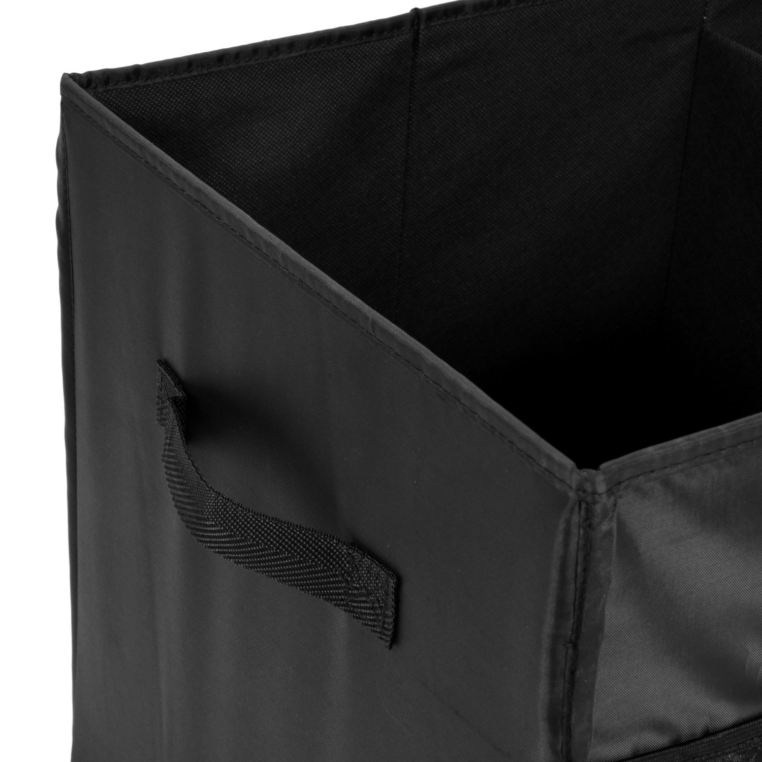 MaidMAX Car Trunk Organizer for SUV with Two Handles and Side Pockets, Foldable, Black, 25.5 Inches Long by MaidMAX (Image #7)