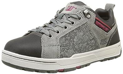82ab3c711d2eb7 Caterpillar Brode St S1P Src, Cheville Chaussures de sécurité Femme, Gris  (Grey)