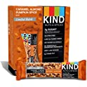 12-Count KIND Caramel Almond Pumpkin Spice Bar, 1.4oz
