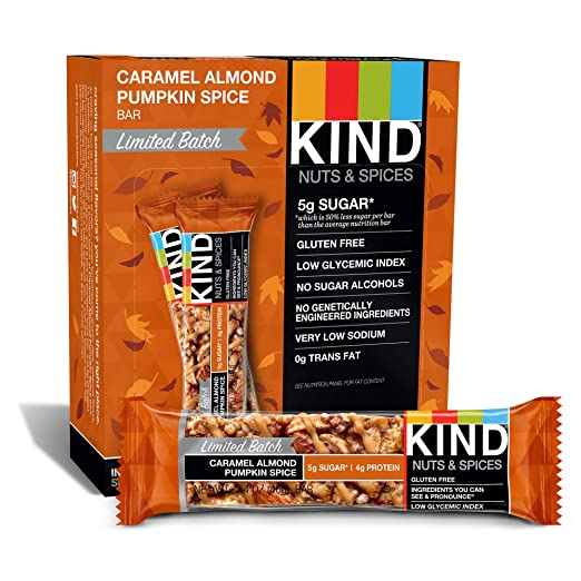 KIND Bar Caramel Almond Pumpki...