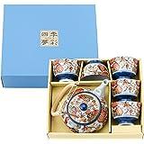 西海陶器 锦平安樱 茶壶茶具套装 31784