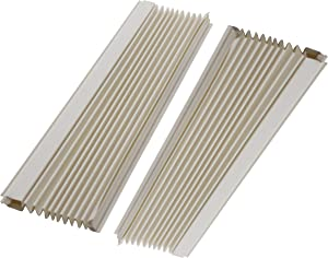 Just4Repair 1 Pair Window Air Conditioner Side Curtains Screen Accordion L&R (AC-6100-66)