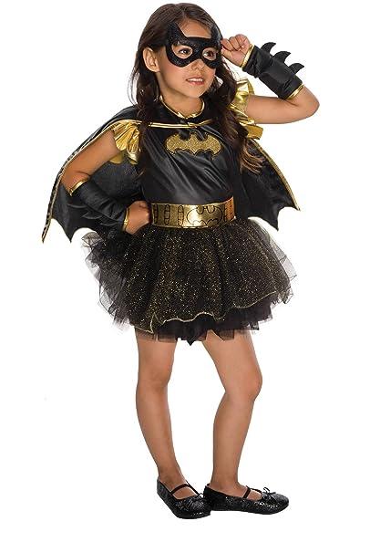 Amazon Com Batgirl Costume Halloween Toddler 3 4t Clothing