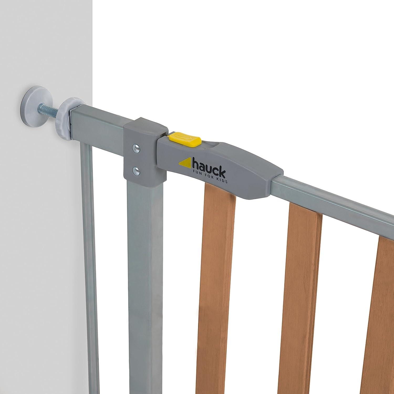 Baby Dan Kit de extensi/ón para barrera de seguridad de 13 cm blanco plata