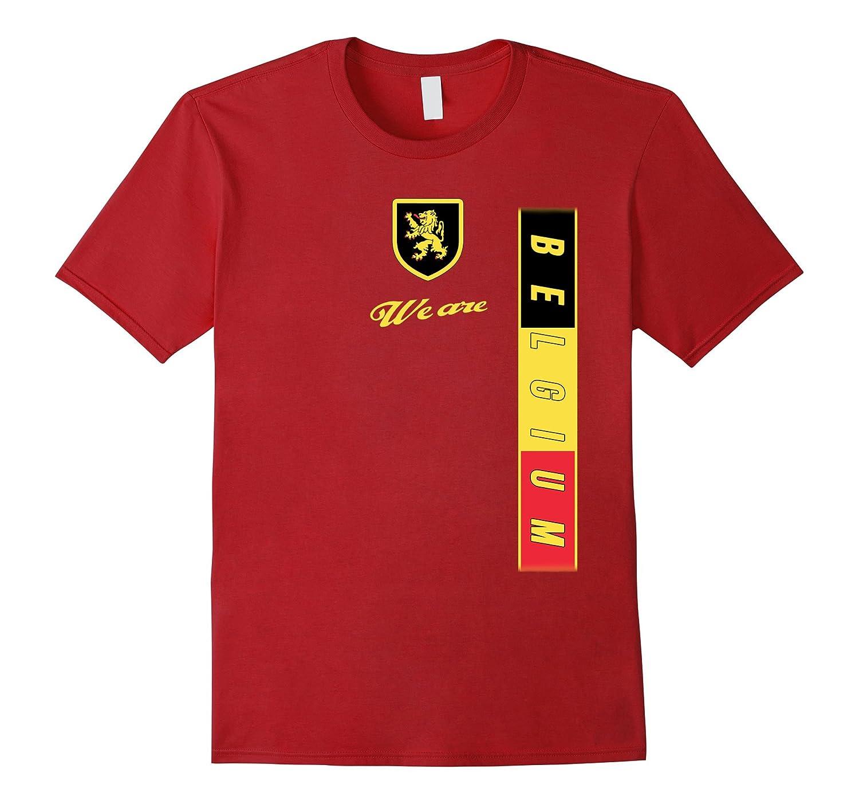 BELGIUM T-Shirt Belgian National Team Jersey Belgique Flag-Art ... 41f6ef430