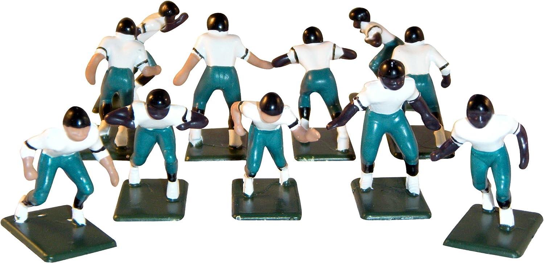 Electric Football 11 Regular Size Men in Navy Orange Stripe Home Uniform