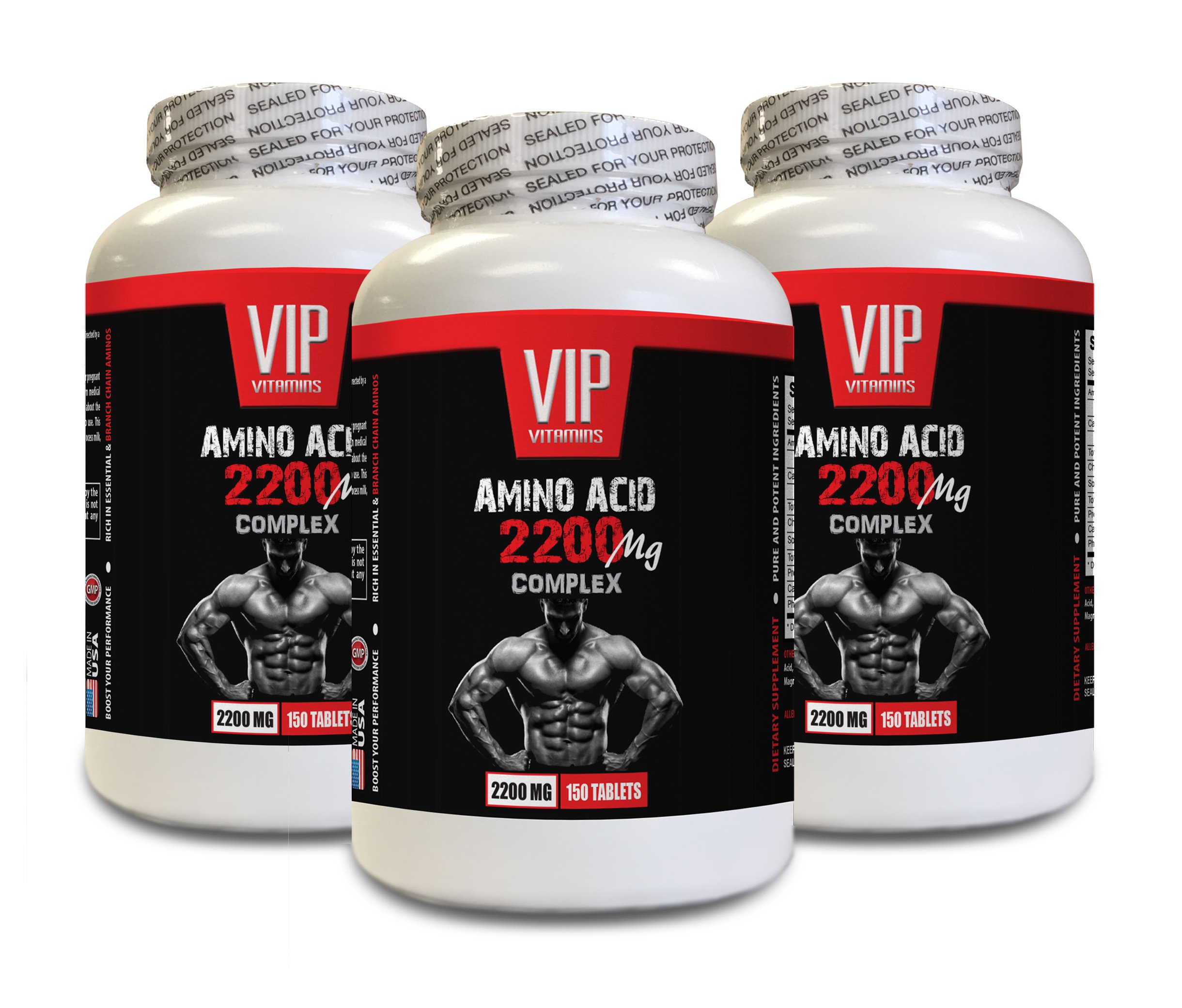 bodybuilding supplements testosterone - AMINO ACIDS COMPLEX 2200 MG - l-lysine tablets - 3 Bottles 450 Tablets