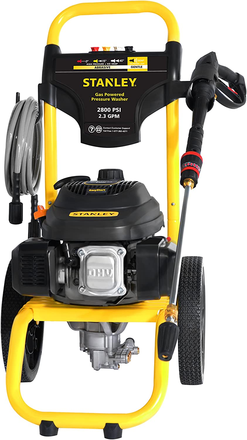STANLEY SXPW2823 Gas Pressure Washer