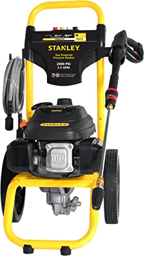 STANLEY SXPW2823 2800 PSI 2.3 GPM Gas Pressure Washer Powered by STANLEY 50-State
