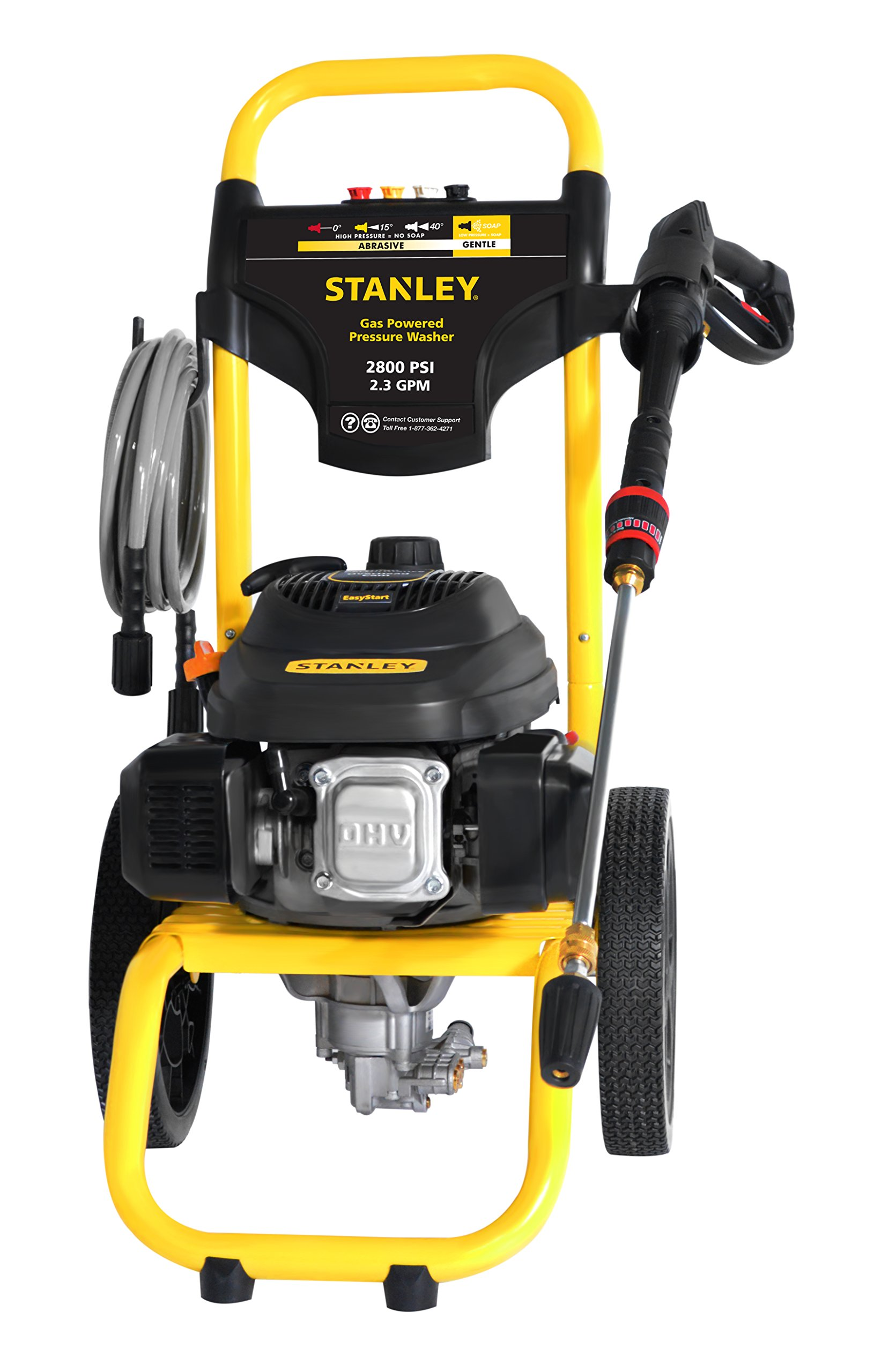 STANLEY SXPW2823 2800 PSI @ 2.3 GPM Gas Pressure Washer Powered by STANLEY (50-State)