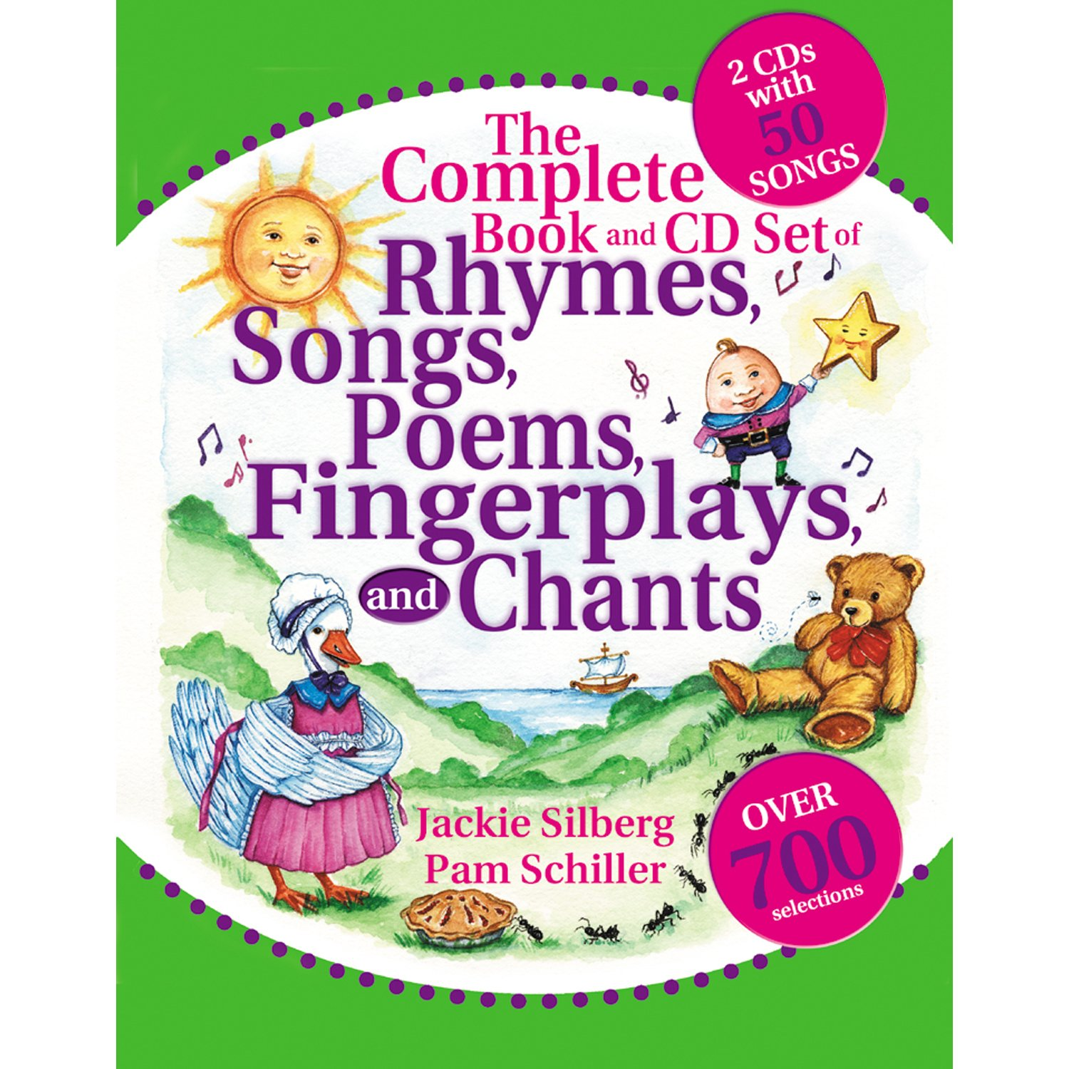 The Complete Book and CD Set of Rhymes, Songs, Poems, Fingerplays, and Chants (Complete Book Series) by GRYPHON HOUSE