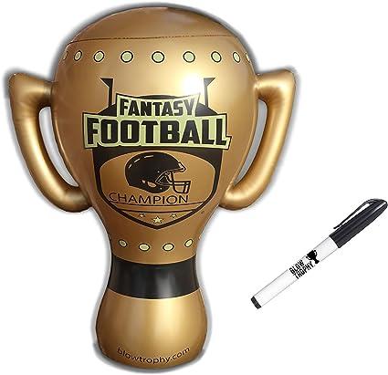 Blow inflable de trofeo trofeo de fútbol de fantasía, gran oro ...