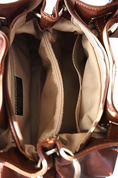 a48efed590965 Sa-Lucca echt Leder Handtasche Damentasche 2508 Henkeltasche ...