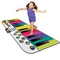 Kidzlane Floor Piano Mat: Jumbo 6 Foot Musical Keyboard Playmat for Toddlers and...