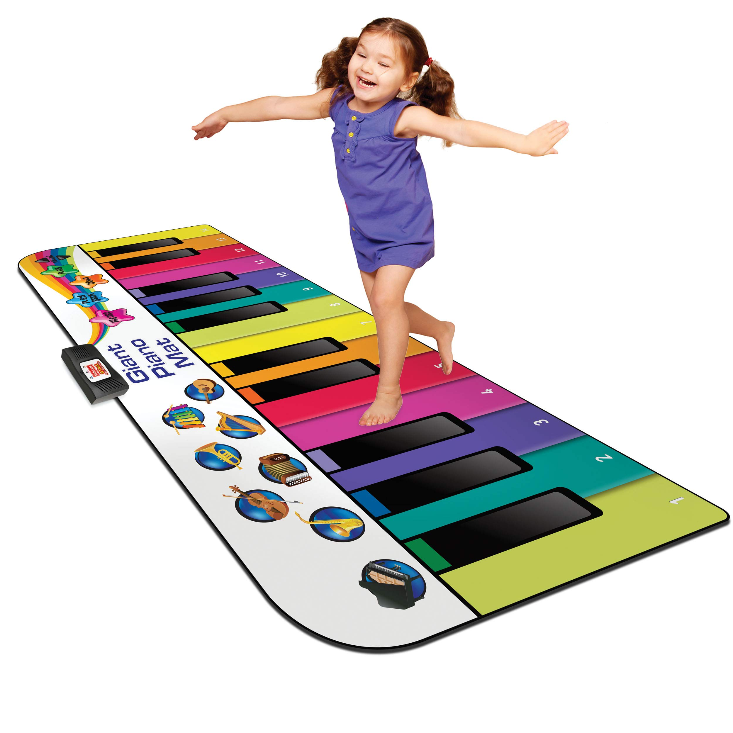 Kidzlane Floor Piano Mat: Jumbo 6 Foot Musical Keyboard Playmat for Toddlers and Kids by Kidzlane (Image #1)