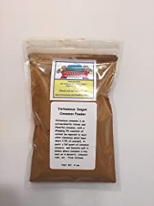 Saigon Vietnamese Cinnamon Powder, 4.5 % Volatile Oil (4 oz)