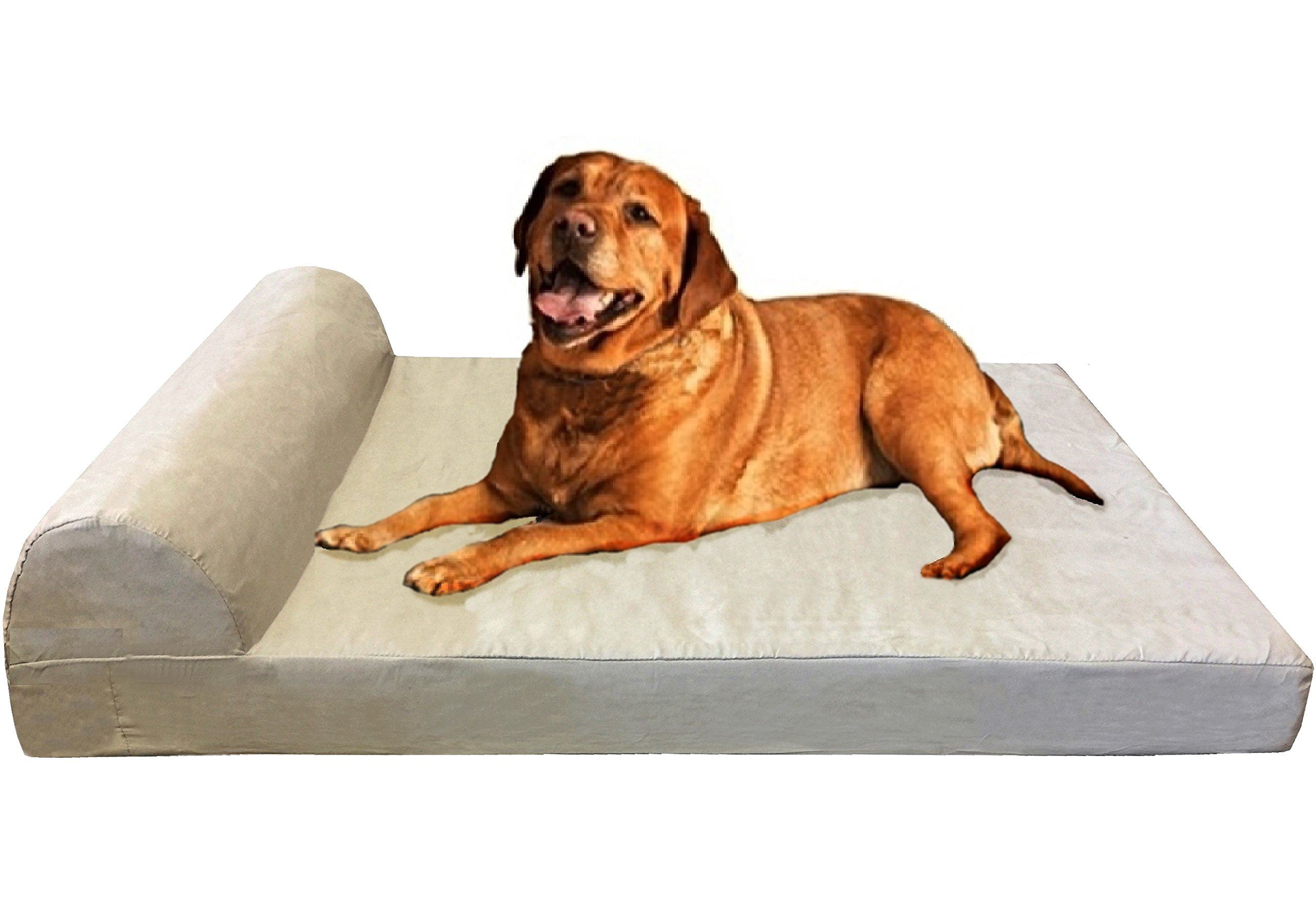 paw foam beds extra x removable memory pin dog with cover bed large
