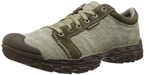 | Skechers USA Men's Gander Burman Oxford, Taupe