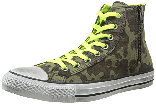 Converse, All Star Hi Side Zip Canvas, Sneaker, Unisex Adulto