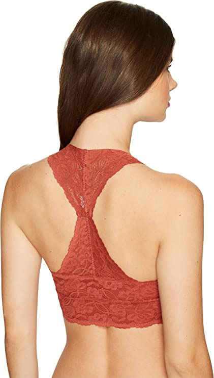 d1f99293ef Free People Womens Galloon Lace Racerback at Amazon Women s Clothing store