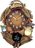 リズム時計 となりのトトロ キャラクター 掛け時計 トトロ M837N 4MJ837MN06