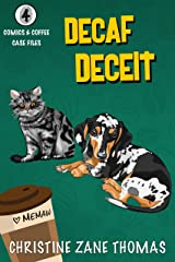 Decaf Deceit (Comics and Coffee Case Files Book 4) Kindle Edition