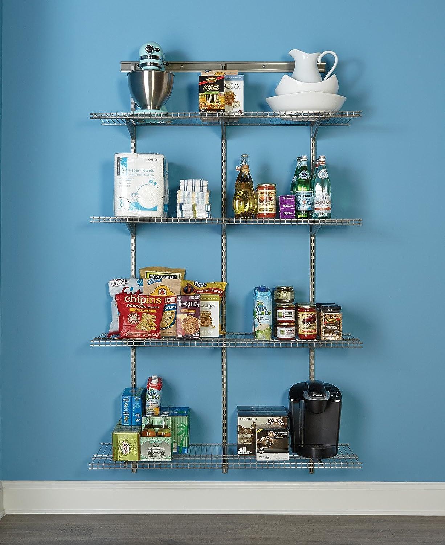 Amazon.com: ClosetMaid 32845 ShelfTrack Adjustable Utility Organizer ...