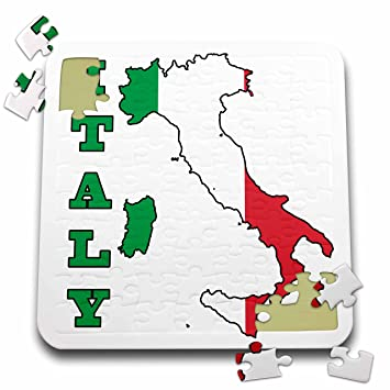 Amazoncom 777images Flags and Maps The flag of Italy in the