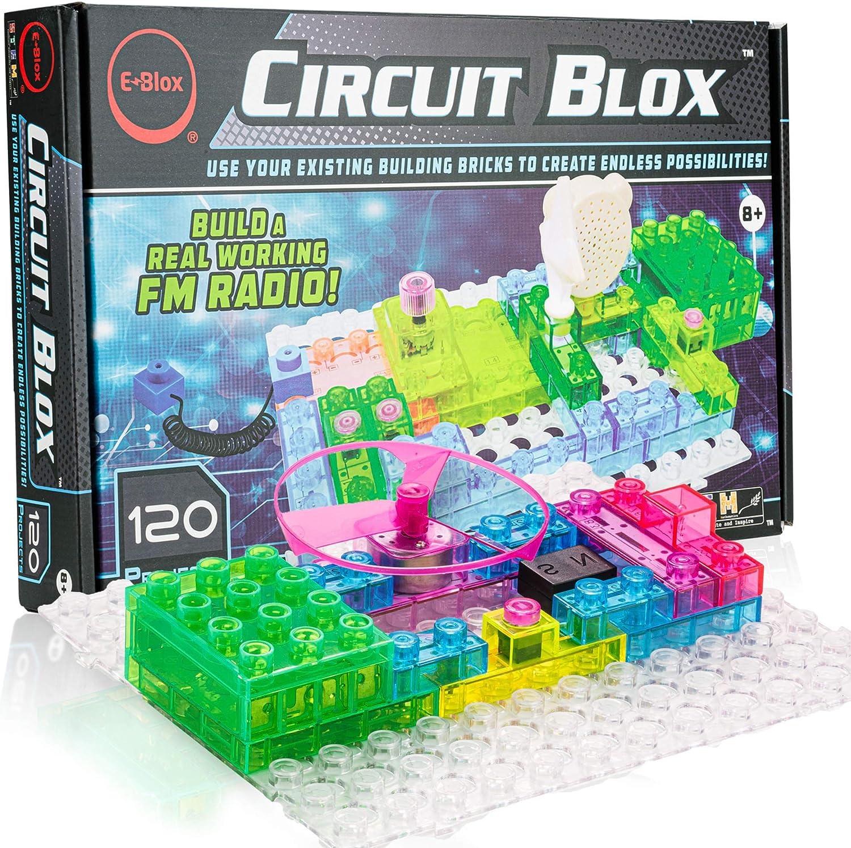 Amazon Com E Blox Circuit Builder 120 Projects Toys Games