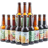 Beer Hawk Big Drop Alcohol Free Beer Selection – 12 Beer Mixed Case Non Alcoholic Craft Beer Gift Set