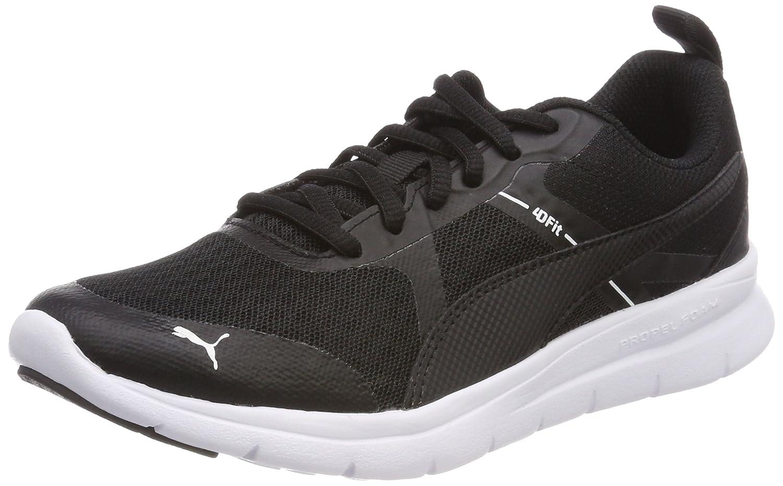 Puma Unisex-Erwachsene Flex Essential Sneaker, Schwarz (Puma schwarz)