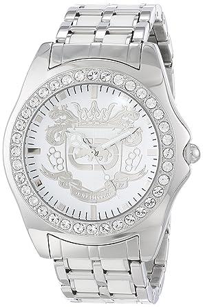 Marc Ecko Mens E95016G6 White Dial Bracelet Watch